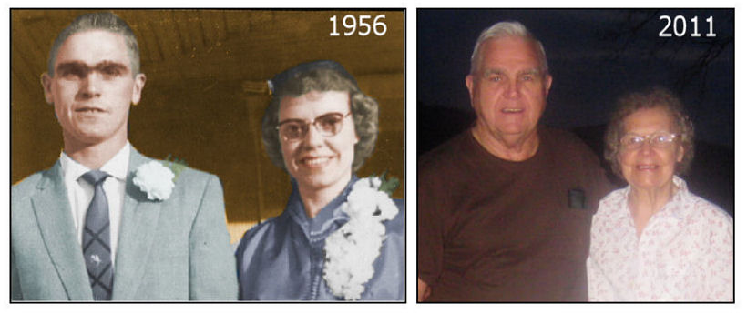 Nancy's Parents Charles and Arlene Miller Married 55 Years