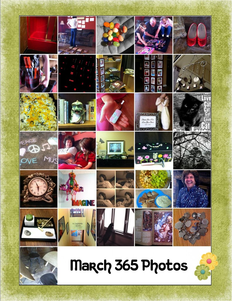 March 2012 365 Photo Collage